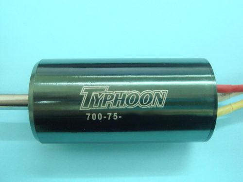 HET Typhoon Motoren 700-75er Klasse