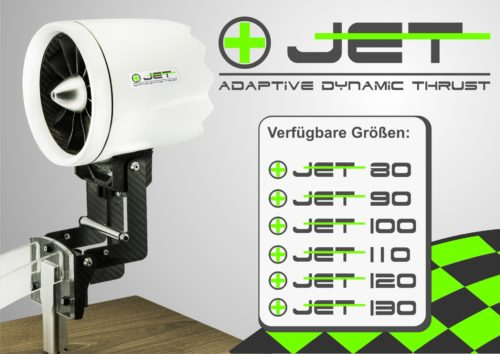 +Jet - Klappimpeller Klappmechaniken 80-130mm