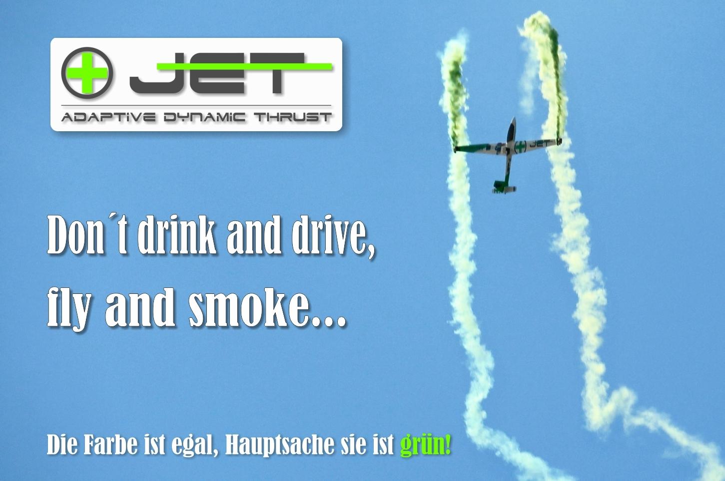 Swift +jet smoke